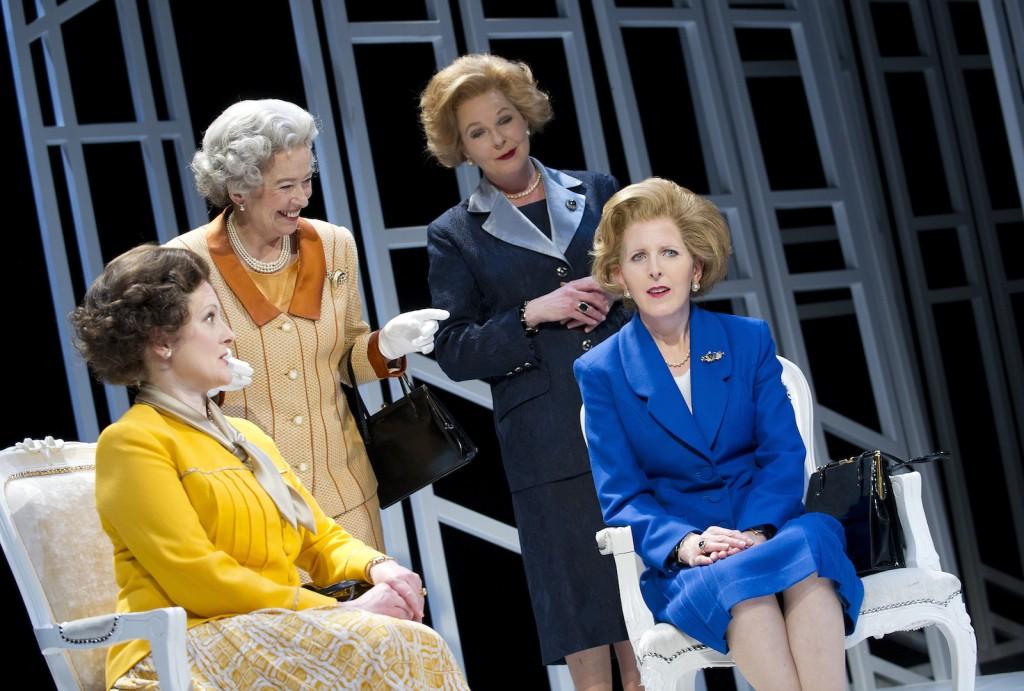 Lucy Robinson (Liz), Marion Bailey (Q), Stella Gonet (T), Fenella Woolgar (Mags). by Tristram Kenton